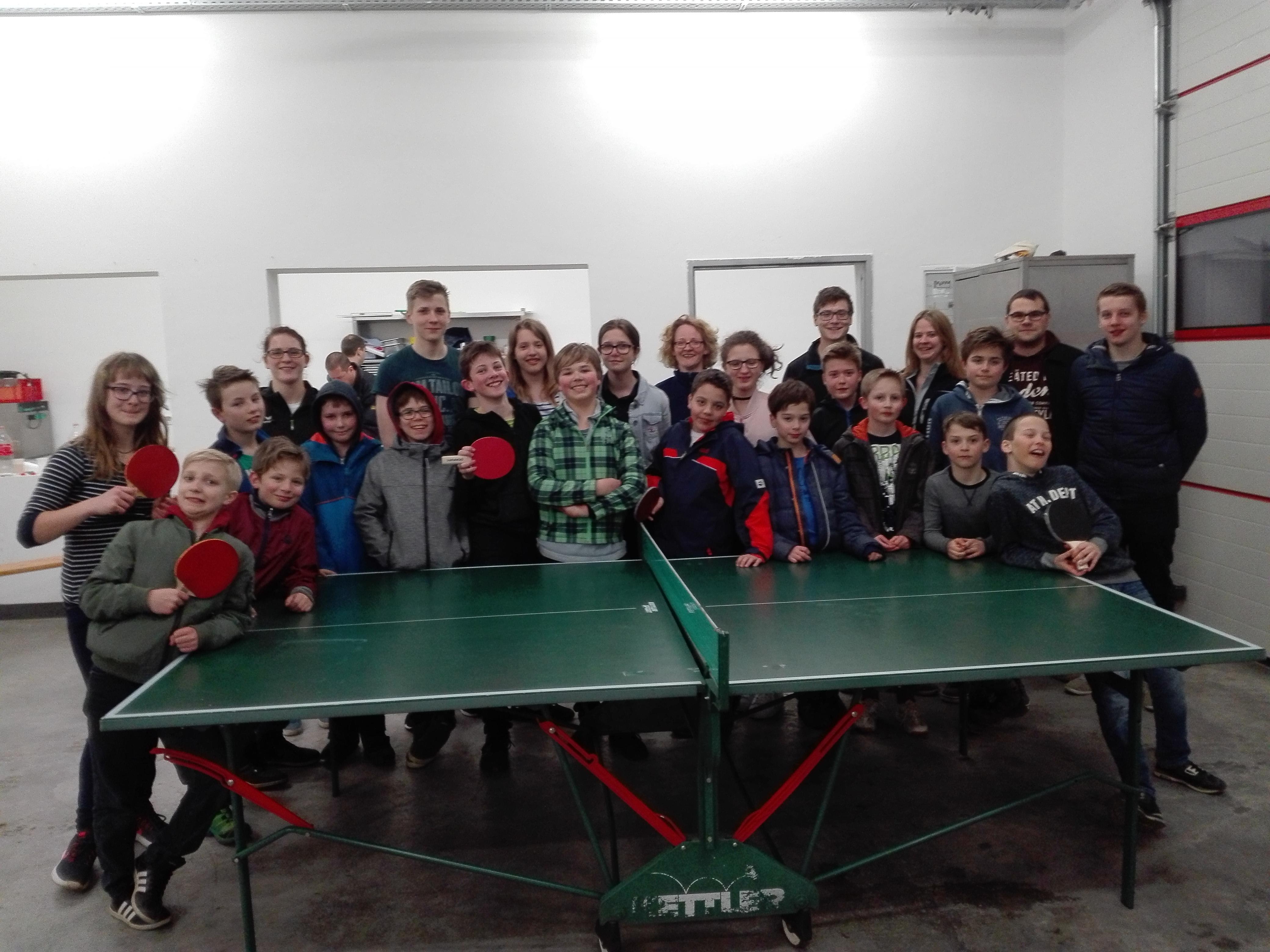 tischtennisspielen
